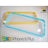 iPhone 6 Plus - เคสหลังใสขอบยาง