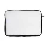 กระเป๋าผ้าใส่ Laptop สีขาวขนาด 14 นิ้ว