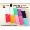 เคสแปะหลัง iPhone 5/5s เคส PVC