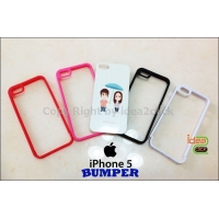 iPhone5  Bumper เนื้อพลาสติกแข็ง