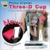 Photo Crystal ทรง Three-D Cup
