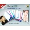 เคสแปะหลัง iPhone 5/5S ขอบมันเงา