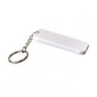 พวงกุญแจพลาสติค - สี่เหลี่ยม ขนาด 48x68mm