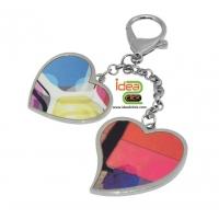 พวงกุญแจ - หัวใจคู่